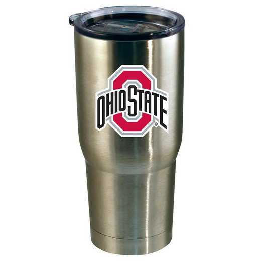 COL-OSU-720101: 22oz Decal SS Tumbler OH St