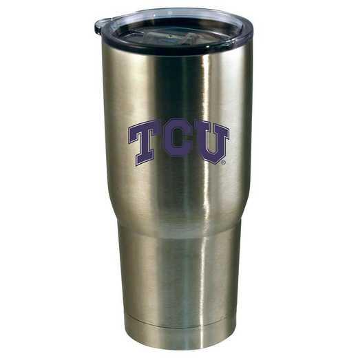 COL-TCU-720101: 22oz Decal SS Tumbler TX Christian