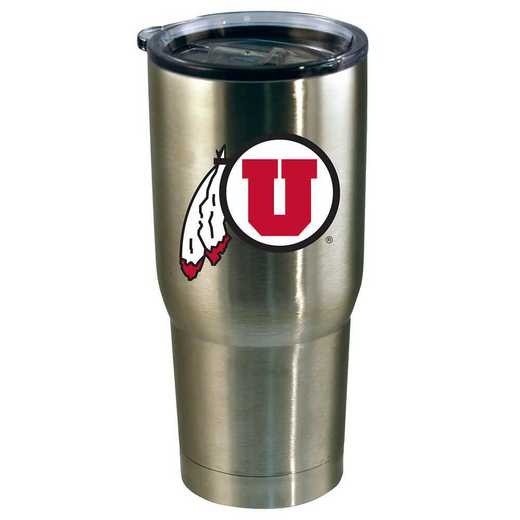 COL-UTA-720101: 22oz Decal SS Tumbler UT