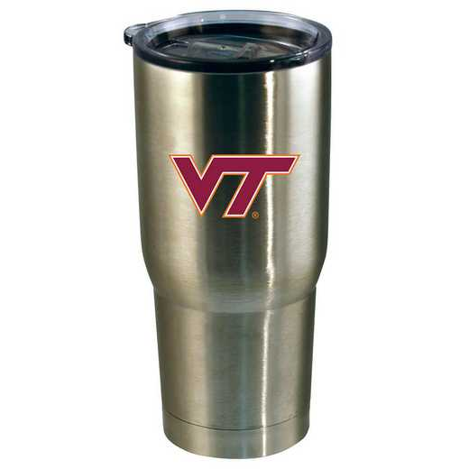 COL-VRT-720101: 22oz Decal SS Tumbler VA Tech