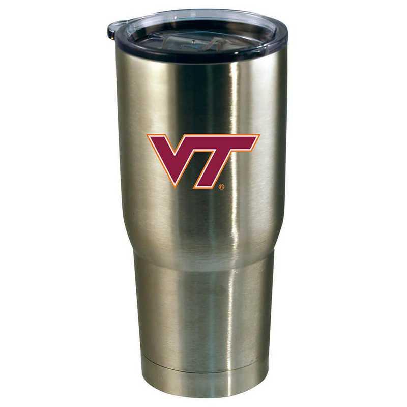 COL-VRT-720101: 22oz Decal SS Tumbler VA Tech