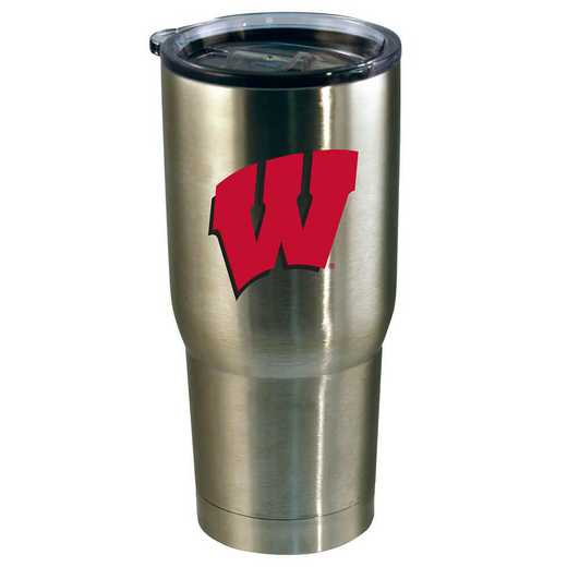 COL-WIS-720101: 22oz Decal SS Tumbler WI