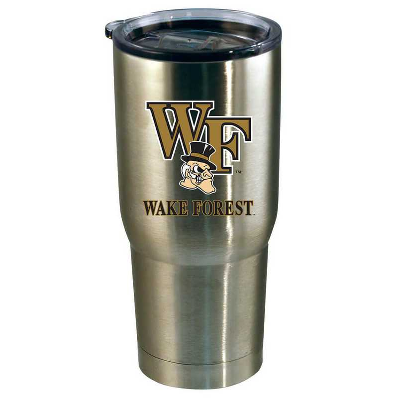 COL-WKF-720101: 22oz Decal SS Tumbler Wake Forest