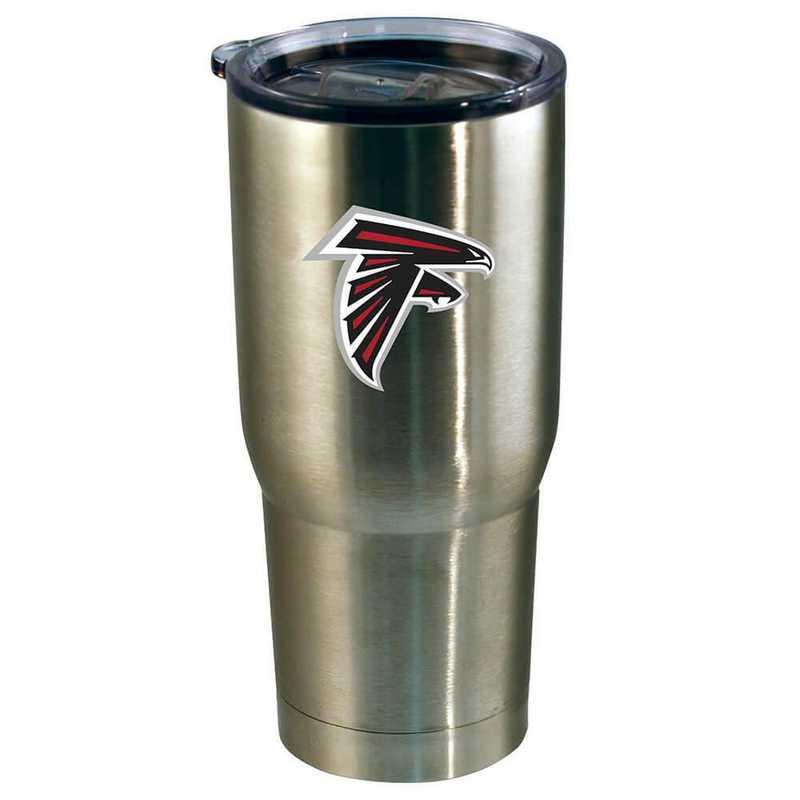 NFL-AFA-720101: 22oz Decal SS Tumbler Falcons