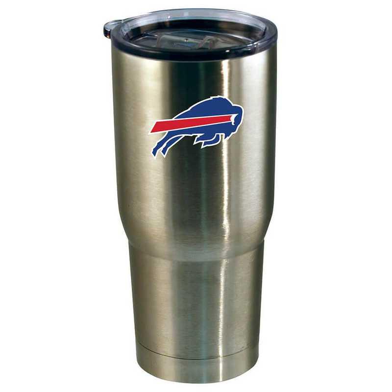 NFL-BUF-720101: 22oz Decal SS Tumbler Bills