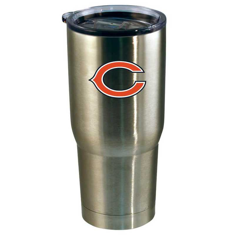 NFL-CBE-720101: 22oz Decal SS Tumbler Bears