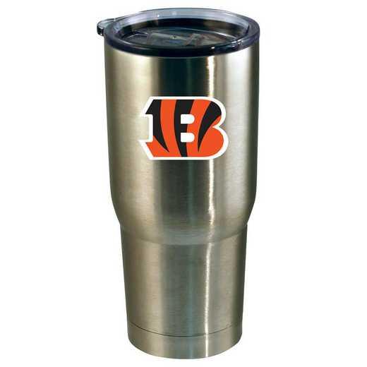 NFL-CBG-720101: 22oz Decal SS Tumbler Bengals