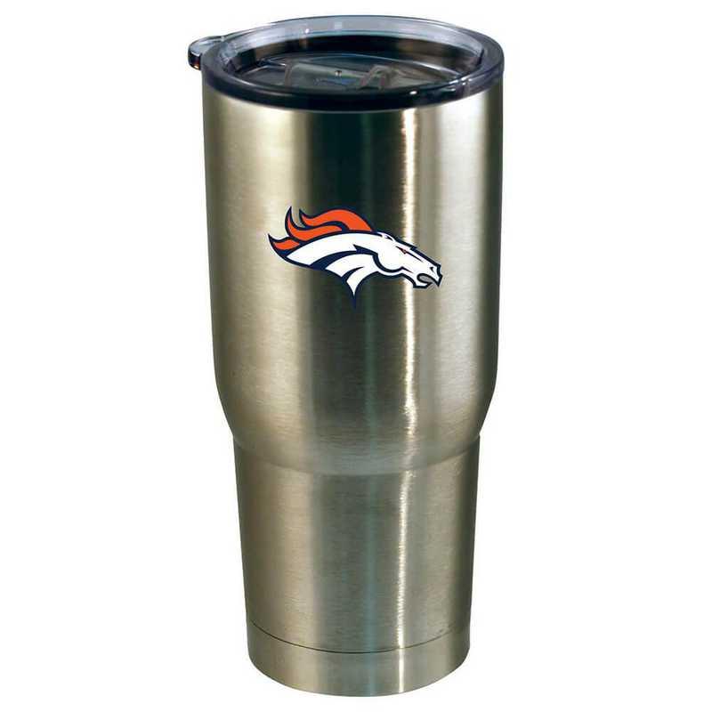 NFL-DBR-720101: 22oz Decal SS Tumbler Broncos