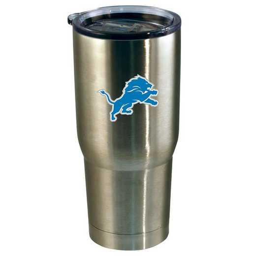 NFL-DLI-720101: 22oz Decal SS Tumbler Lions