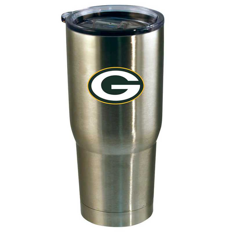 NFL-GBP-720101: 22oz Decal SS Tumbler Packers
