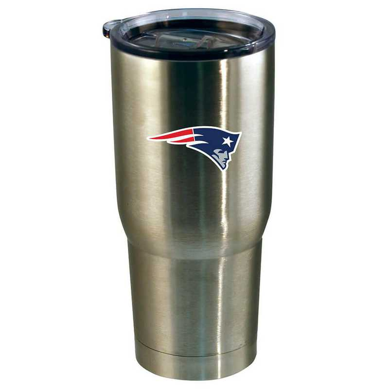 NFL-NEP-720101: 22oz Decal SS Tumbler Patriots