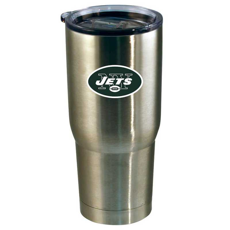 NFL-NYJ-720101: 22oz Decal SS Tumbler Jets