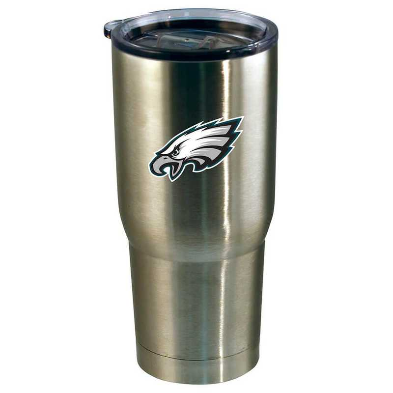 NFL-PEG-720101: 22oz Decal SS Tumbler Eagles