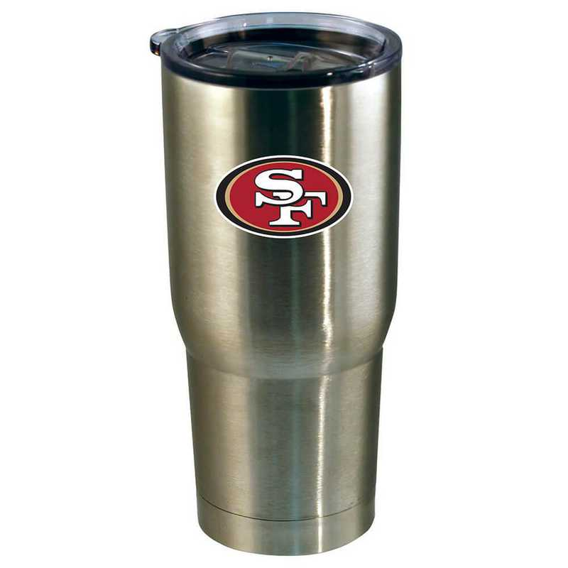 NFL-SFF-720101: 22oz Decal SS Tumbler 49ers