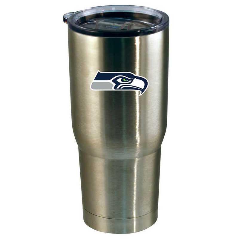 NFL-SSH-720101: 22oz Decal SS Tumbler Seahawks