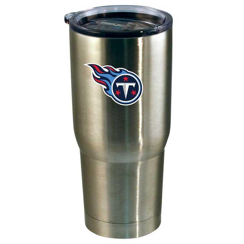 NFL-TTI-720101: 22oz Decal SS Tumbler Titans