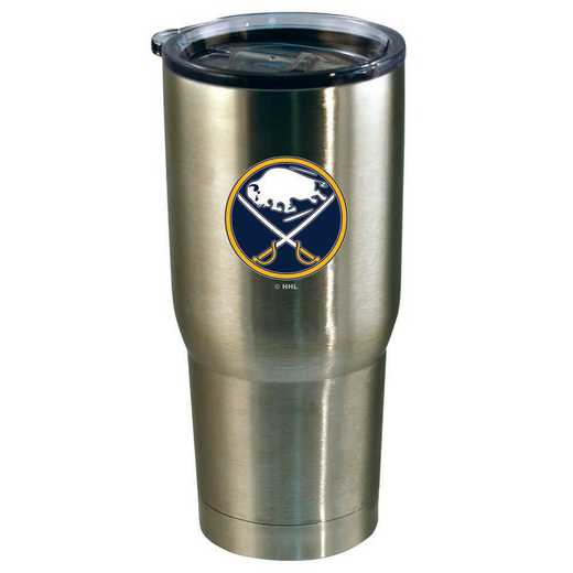 NHL-BSA-720101: 22oz Decal SS Tumbler Sabers