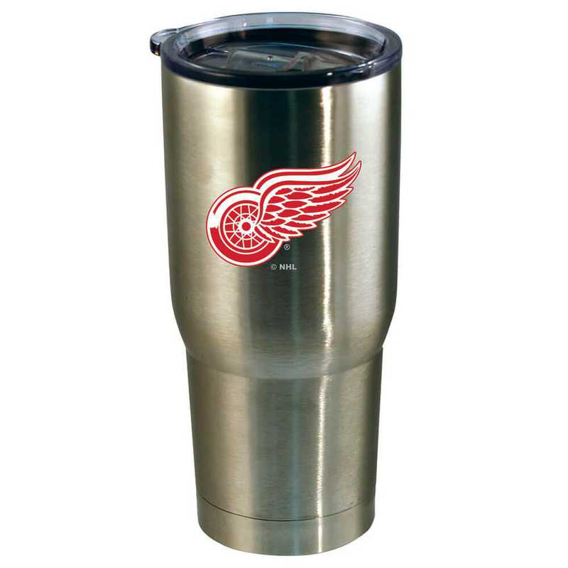 NHL-DRW-720101: 22oz Decal SS Tumbler Red Wings