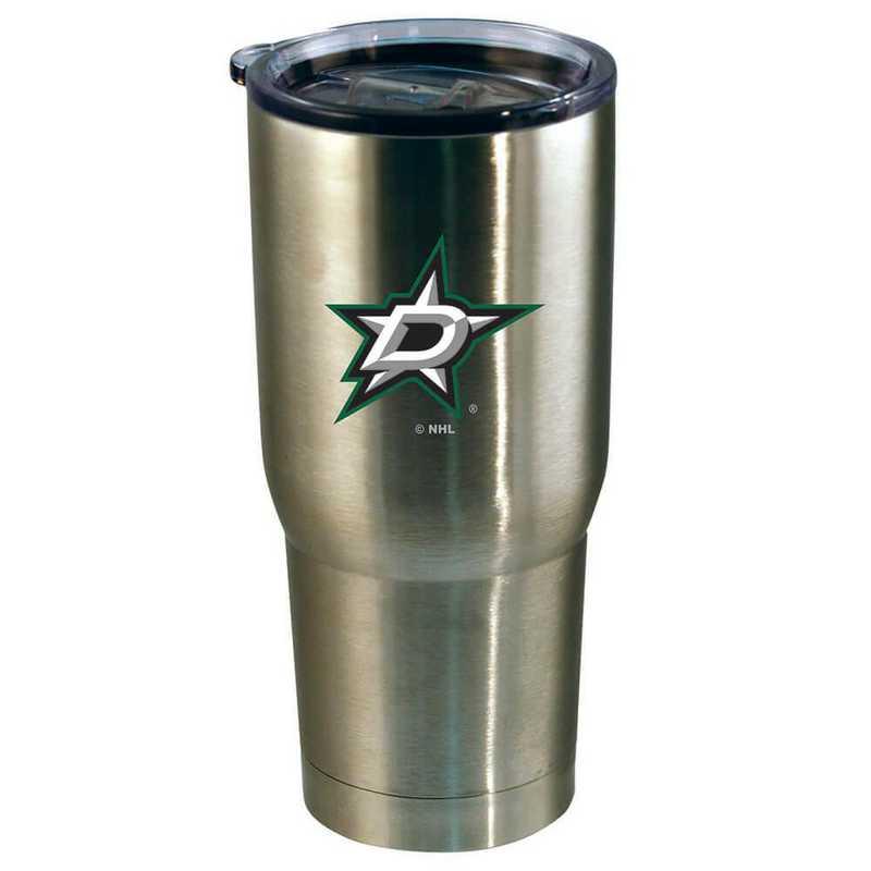 NHL-DST-720101: 22oz Decal SS Tumbler Stars