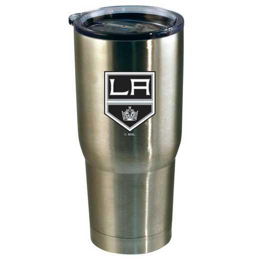 NHL-LAK-720101: 22oz Decal SS Tumbler Kings