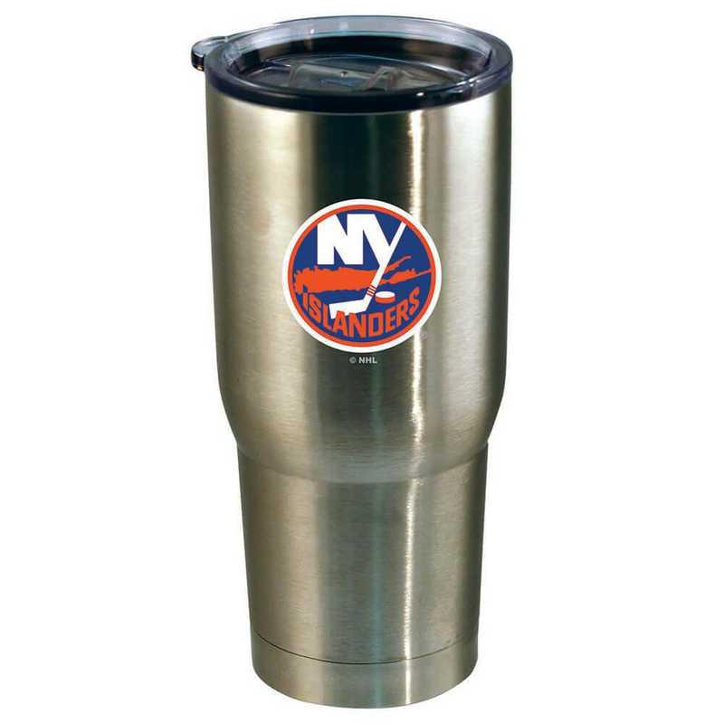 NHL-NYI-720101: 22oz Decal SS Tumbler Islanders