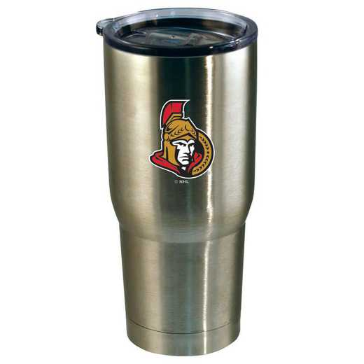 NHL-OSE-720101: 22oz Decal SS Tumbler Senators