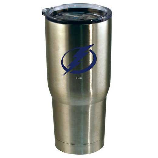 NHL-TBL-720101: 22oz Decal SS Tumbler Lightning