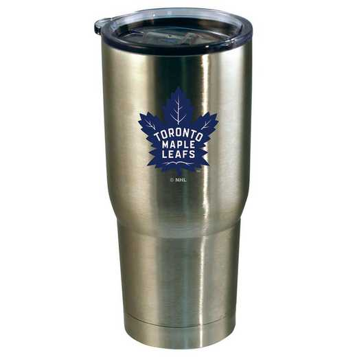 NHL-TML-720101: 22oz Decal SS Tumbler Maple Leafs