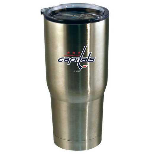 NHL-WCA-720101: 22oz Decal SS Tumbler Capitals