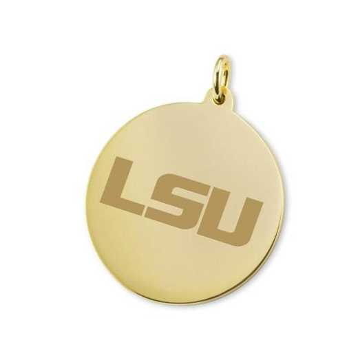 615789060260: LSU 14K Gold Charm by M.LaHart & Co.