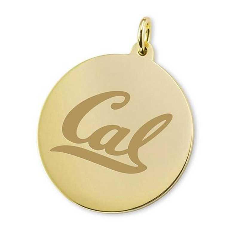 615789110125: Berkeley 14K Gold Charm by M.LaHart & Co.