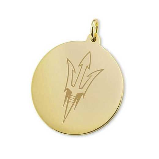 615789175889: Arizona State 14K Gold Charm by M.LaHart & Co.