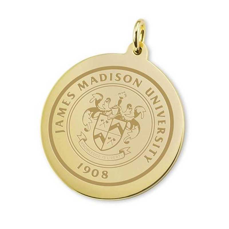 615789512738: James Madison 14K Gold Charm by M.LaHart & Co.