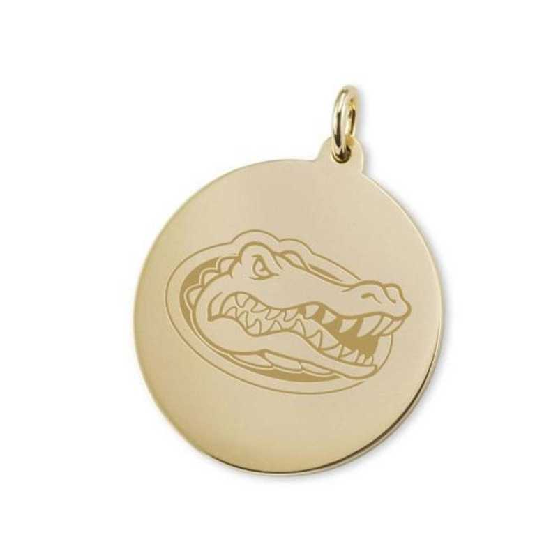 615789639961: Florida 14K Gold Charm by M.LaHart & Co.
