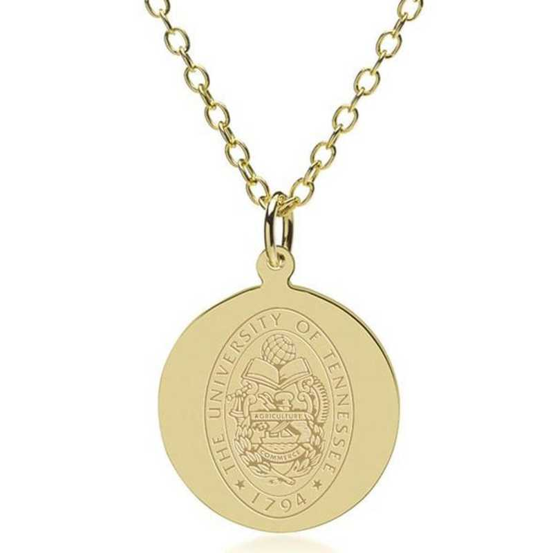 615789265856: Tennessee 14K Gold Pendant & Chain by M.LaHart & Co.
