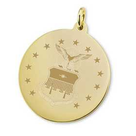 615789071013: Air Force Academy 18K Gold Charm by M.LaHart & Co.