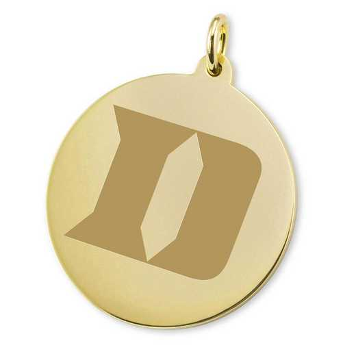 615789366089: Duke 18K Gold Charm by M.LaHart & Co.