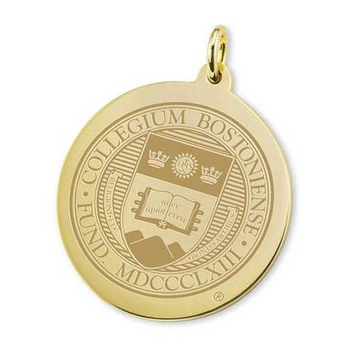 615789431848: Boston College 18K Gold Charm by M.LaHart & Co.