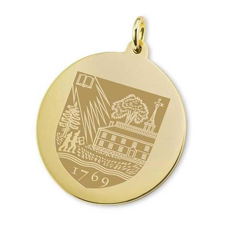 615789444596: Dartmouth Univ18K Gold Charm by M.LaHart & Co.