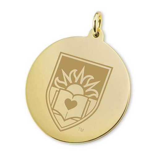 615789449669: Lehigh 18K Gold Charm by M.LaHart & Co.