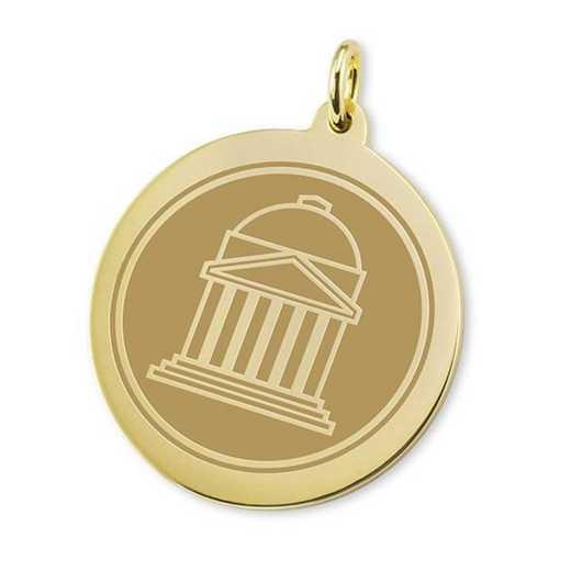 615789458098: SMU 18K Gold Charm by M.LaHart & Co.