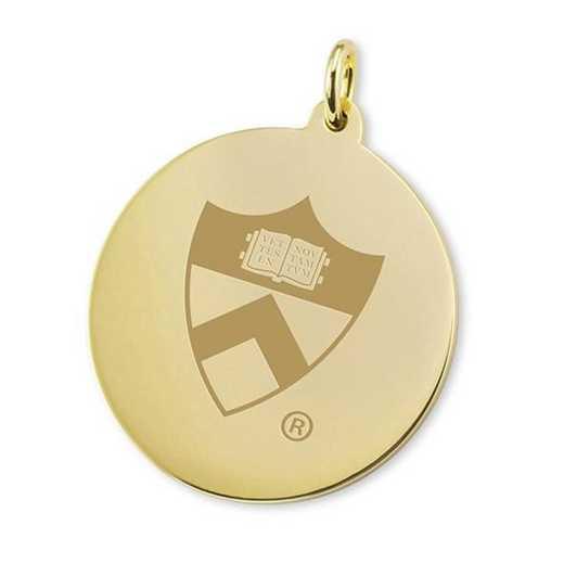 615789551324: Princeton 18K Gold Charm by M.LaHart & Co.