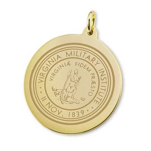 615789850021: VMI 18K Gold Charm by M.LaHart & Co.
