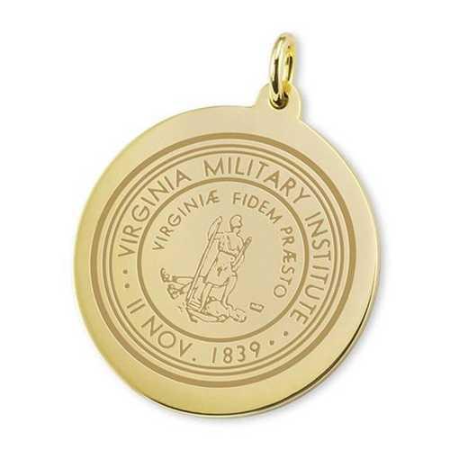 615789850021: VMI 18K Gold Charm by M.LaHart & Co.