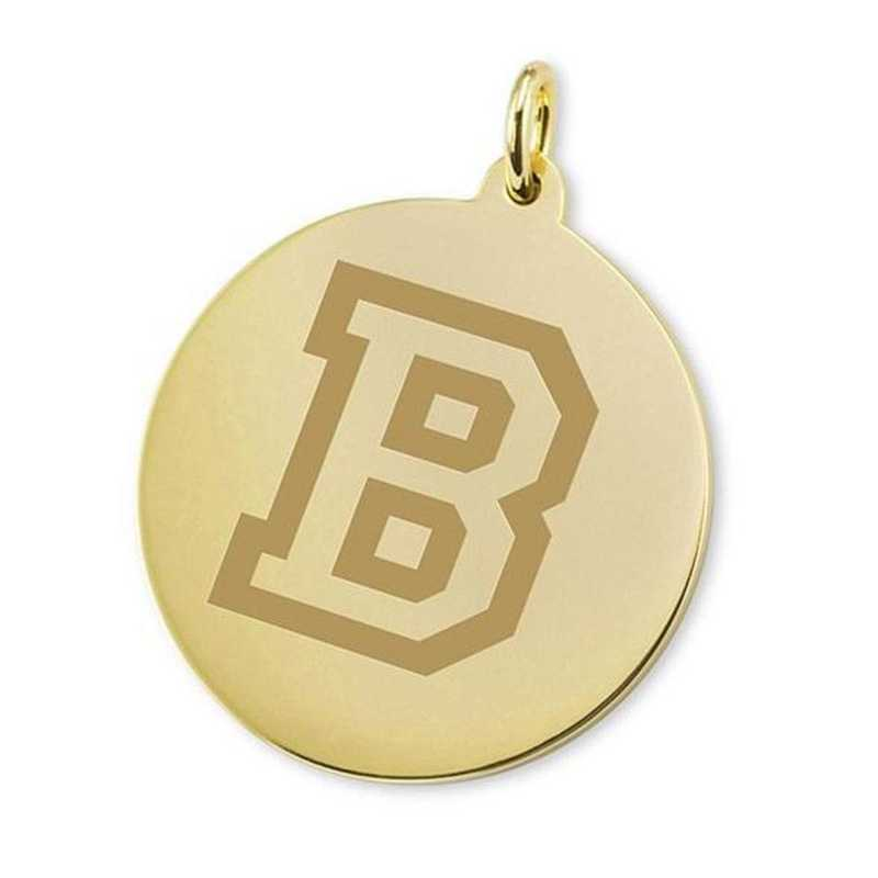 615789871842: Bucknell 18K Gold Charm by M.LaHart & Co.
