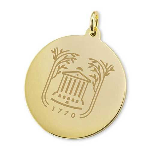 615789892700: College of Charleston 18K Gold Charm by M.LaHart & Co.