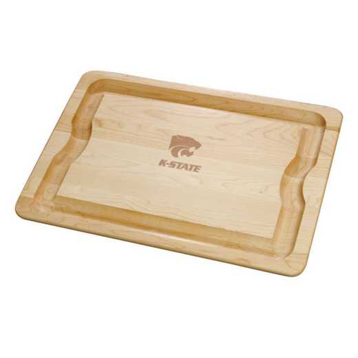 615789532477: Kansas ST UNIV Maple Cutting Board by M.LaHart & Co.