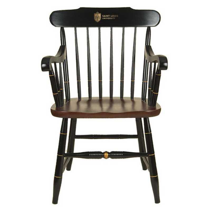 615789030591: Saint Louis University Captain's Chair by Hitchcock