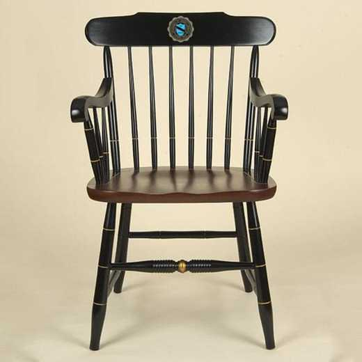 615789140474: University of North Carolina Captain's Chair by Hitchcock