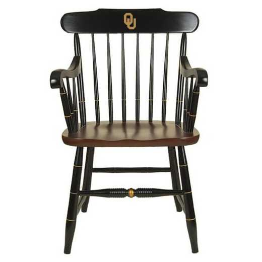 615789188513: University of Oklahoma Captain's Chair by Hitchcock